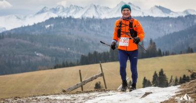 Marian Rutkowski na trasie biegu (fot. Wiktor Bubniak/za zgodą organizatora biegu)
