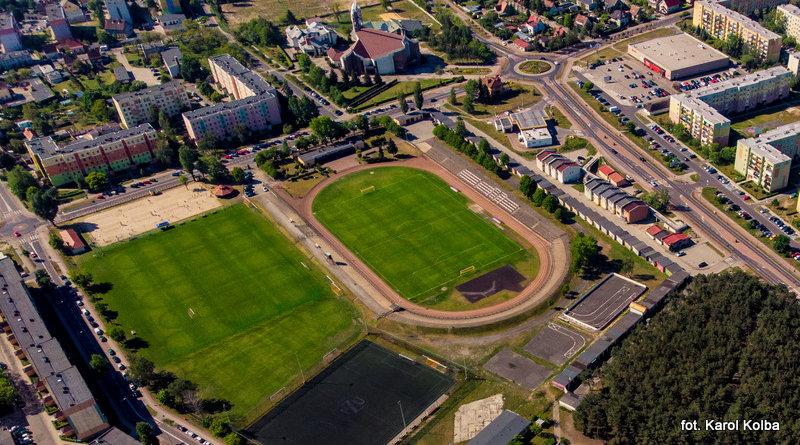Poznajcie plan miasta nakompleksowy remont stadionu