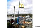 """McDonald's wNowej Soli: logo """"M"""" już namiejscu, pracownicy poszukiwani"""